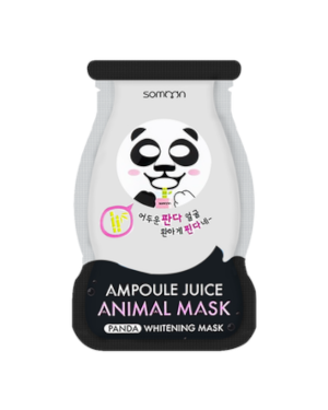 SCINIC - Somoon Masque Animal Ampoule Juice - Panda - Whitening - 1pc