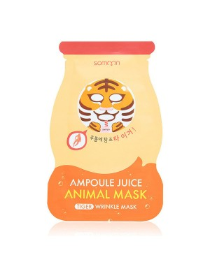 SCINIC - Somoon Ampoule Juice Masque Animal - Tigre - Rides - 1pc