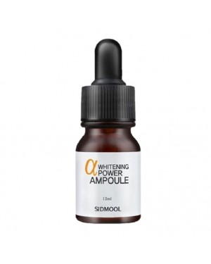 Sidmool - Alpha Whitening Power Ampoule - 12ml
