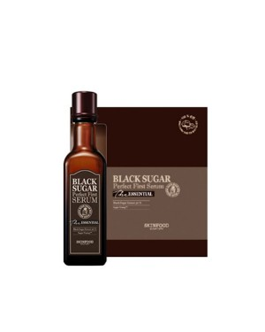 SKINFOOD - Black Sugar Perfect First Serum L'essentiel - 2items