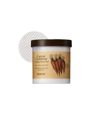 SKINFOOD - Tampon d'eau apaisante carotte carotène - 60pcs