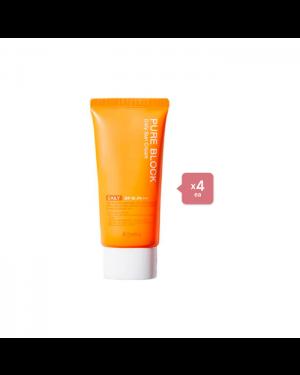 A'PIEU Pure Block Natural Daily Sun Cream (4ea) Set