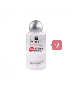 Daiso - ER White Whitening Lotion - 120ml (3ea) Set