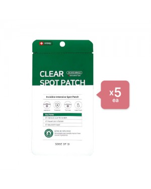 SOME BY MI - Clear Spot Patch (5ea) Set - Myrtle green