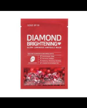 SOME BY MI - Red Diamond Brightening Glow Luminous Ampoule Mask - Micro - white - 10pcs