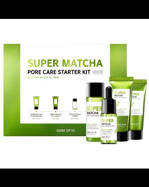 SOME BY MI - Super Matcha Kit de démarrage pour le soin des pores (édition) - 1set(4items)