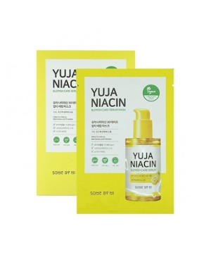 SOME BY MI - Yuja Niacin 30 Days Miracle Blemish Serum Mask - 10pcs