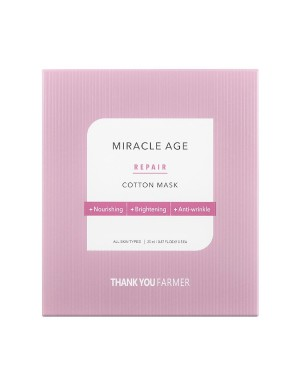 THANK YOU FARMER - Masque en coton Miracle Age Repair