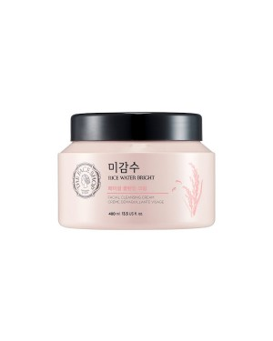THE FACE SHOP - Rice Water Bright Facial Cleansing Cream