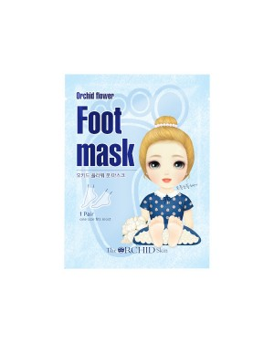 The ORCHID Skin - Orchid Flower Foot Mask - 18ml