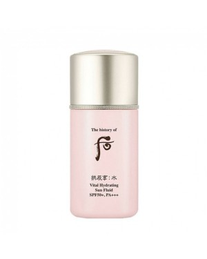 TheHistoryofWhoo - Gongjinhyang Soo Soo Yeon Vital Hydrating Sun Fluid (SPF 50+ PA+++) - 60ml