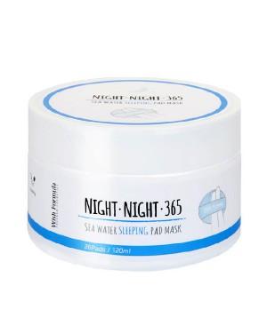 Wish Formula - Night Night 365 Sea Water Sleeping Pad Mask - 1pack (26pcs)