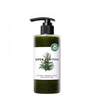WONDER BATH - Super Vegitoks Cleanser - Green - 300ml