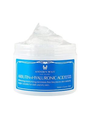 Annie's Way - Arbutin + Hyaluronic Acid Brightening Jelly Mask
