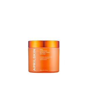 APRILSKIN - Real Carrotene Blemish Clear Vita Pad - 60pads