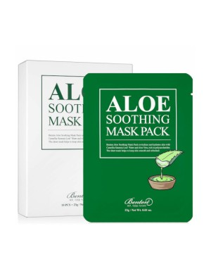 Benton - Aloe Soothing Pack de masques