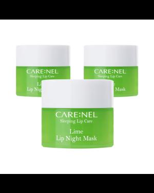 CARE:NEL - Ensemble de masques de nuit à la lime - 5g*3ea