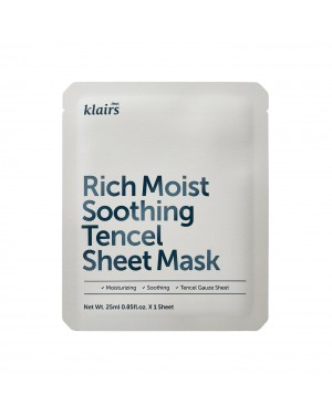 Dear, Klairs - Rich Moist Soothing Tencel Sheet Mask
