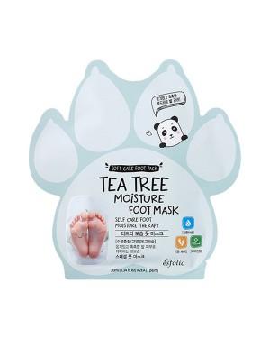 esfolio - Masque hydratant pour les pieds à l'arbre à thé - 10ml X 1pair