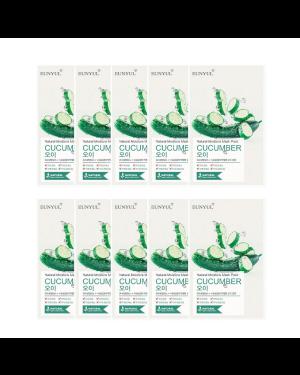 EUNYUL - Pack Masque Hydratant Naturel - Concombre - 10pcs