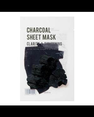EUNYUL - Masque en feuille de charbon de bois Purity - 1pc