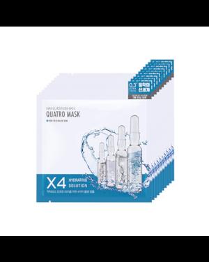 HANURSINBIHAN - Quatro Masque Solution Hydratante - 27g x 10ea