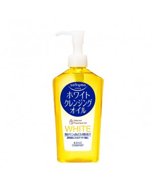 Kose - Softymo - White Cleansing Huile (Yellow) - 230ml