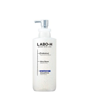 LABO-H - Hair Loss Relief Shampoo - Scalp Cooling - 400ml
