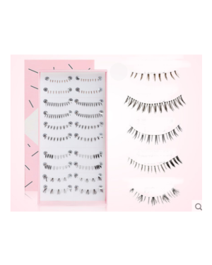 Litfly - Cils # 406 (style mixte) - 10 pairs