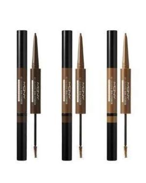 MACQUEEN - My Colouring Dual Eyebrow Pencil&Browcara - 2g