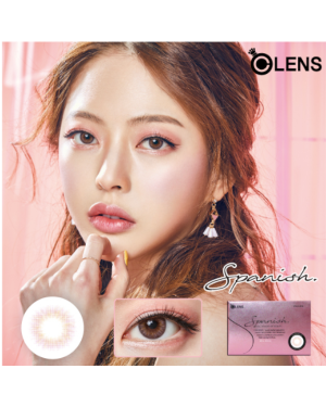 Olens - Spanish 1 Month - Real Peach - 2pcs