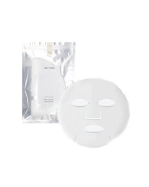 ONE THING - Masque facial pur coton - 20pcs