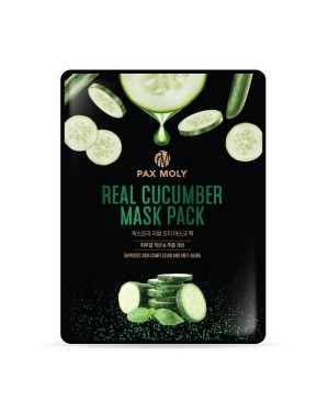 Pax moly - Real Mask - Cucumber - 10ea