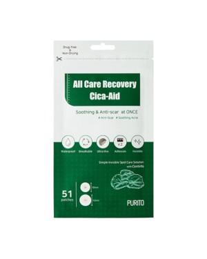 PURITO - All Care Recovery Cica-Aid - 51pcs