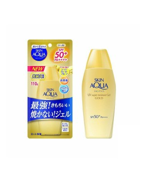 Rohto Mentholatum  - Skin Aqua UV Super Moisture Gel Gold SPF 50+ PA++++ - 110g