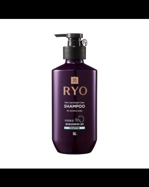 Ryo Hair - Jayangyunmo 9EX Hair Loss Expert Care Shampoo - For Sensitive Scalp - 400ml