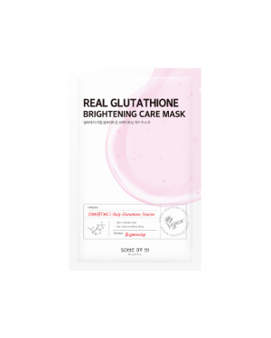 SOME BY MI - Masque de soin éclaircissant Real Glutathion - 1pc