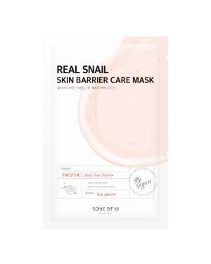 SOME BY MI - Real Masque de soin de barrière de peau d'escargot - 1pc