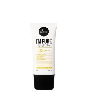 SUNTIQUE - I'm Pure Perfect Cica Suncream SPF50 + PA ++++ - 50ml