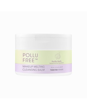THANK YOU FARMER - Pollufree Baume Nettoyant Fondant Maquillage - 90ml