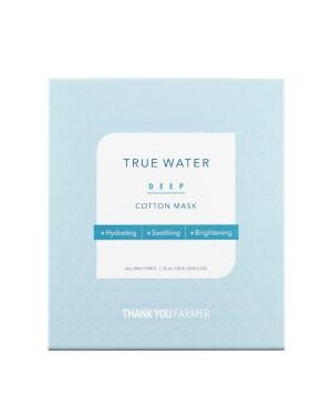 THANK YOU FARMER - Masque en coton profond True Water
