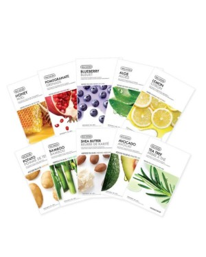The Face Shop - Masque Visage Real Nature