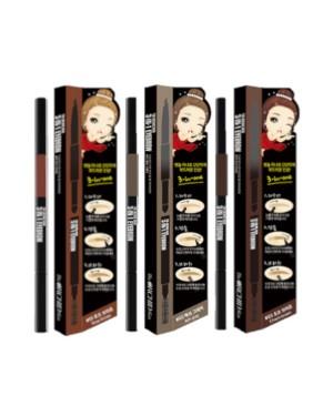 The ORCHID Skin - Sourcils 3 en 1 - Pencil-0.3g+Powder-0.5g