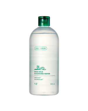 VT Cosmetics - Cica Mild Cleansing Water - 500ml