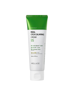 Wellage - Real Cica Calming 95 Cream - 80ml