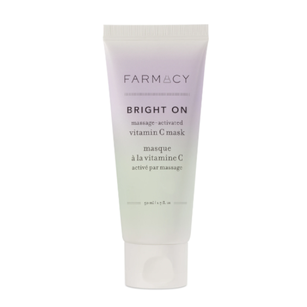 FARMACY Bright On Massage-Activated Vitamin C Mask