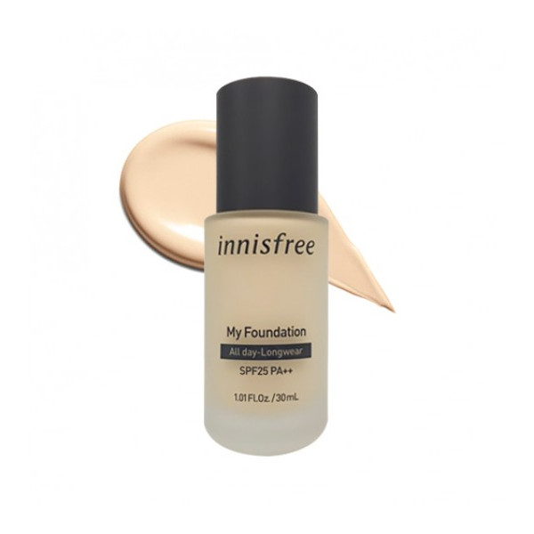 innisfree - My Foundation All day-longwear SPF25 PA++ - 30ml - No.