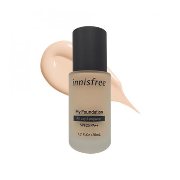 innisfree - My Foundation All day-longwear SPF25 PA++ - 30ml - No.
