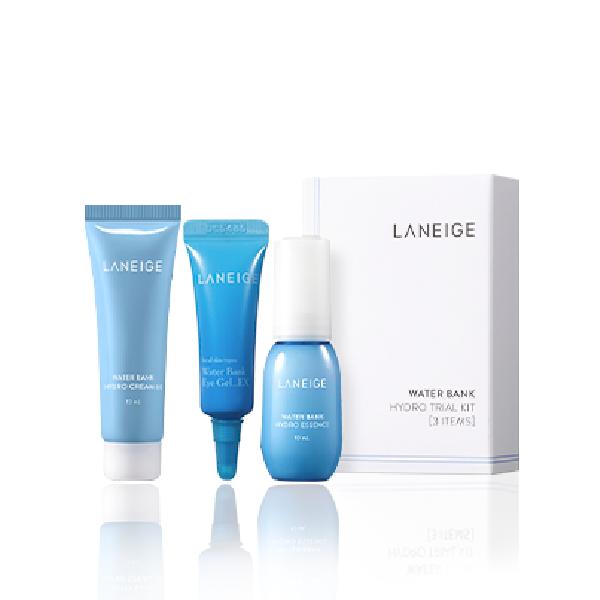 LANEIGE - Water Bank Hydro Trial Kit