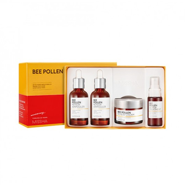 MISSHA - Bee Pollen Renew Ampouler Special Set - 1pack (4items)